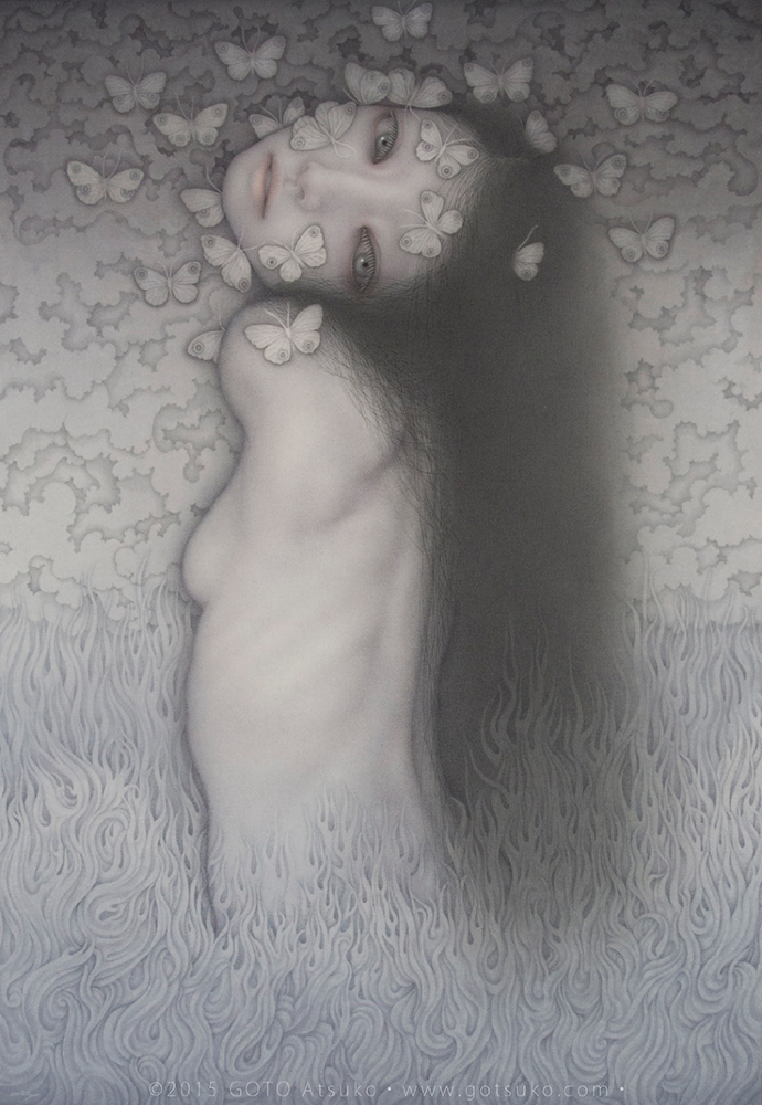 Leheletfinom alkotások a japán festőtől