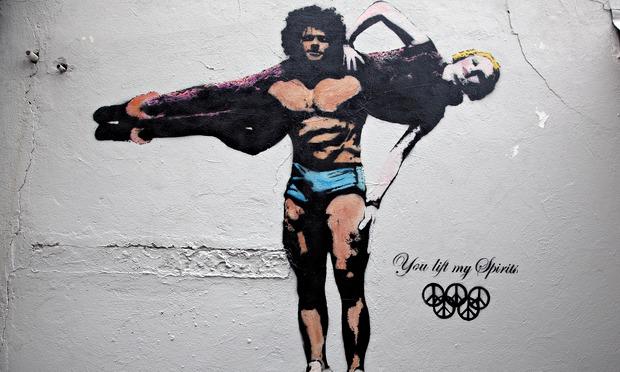 Street art a legjavából