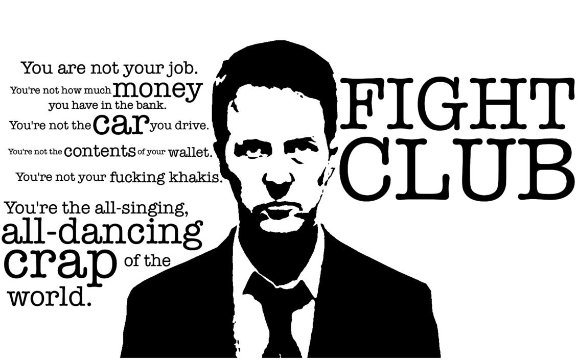 fight club idézetek A világ legfélreértettebb filmje?   Smoking Barrels