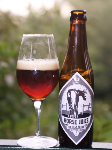 Nem lónyál - Horse Juice - Barley Wine a Legendától