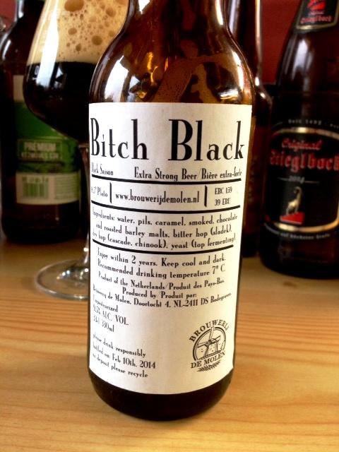 Lány a sötétben - De Molen Bitch Black Saison