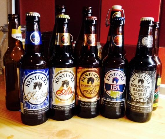 Párhuzamos sörrajzok - Kentucky Ale és Bourbon Barrel Ale