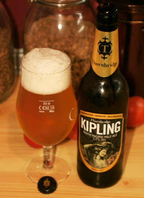 """Egy vérből valók vagyunk"" - Thornbridge: Kipling - South Pacific Pale Ale"