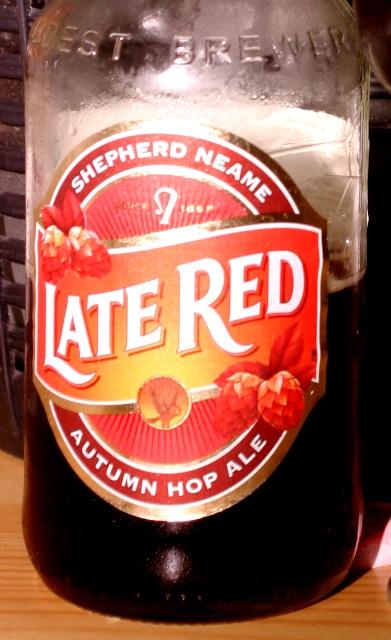 """""""Itt van újra"""" - Őszi sör Angliából - Shepherd Neame: Late Red"""