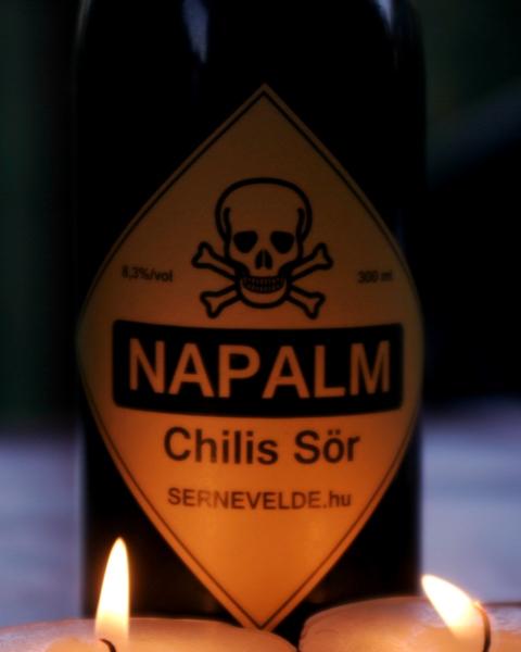 Meglepetéssörök a Főzdefesztre 3. - Napalm, chilis sör