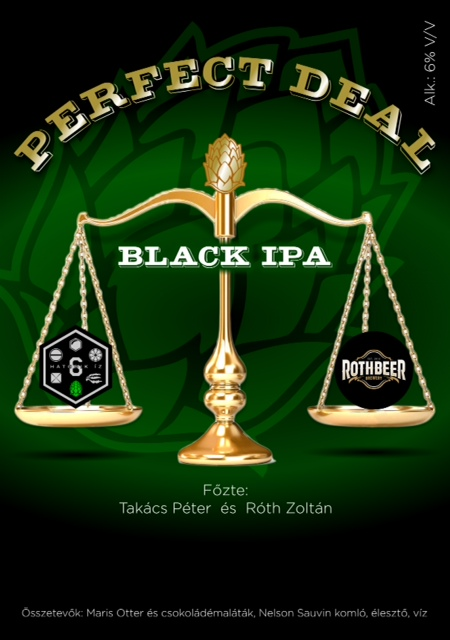 Nem alkuszunk - Perfect Deal Black IPA