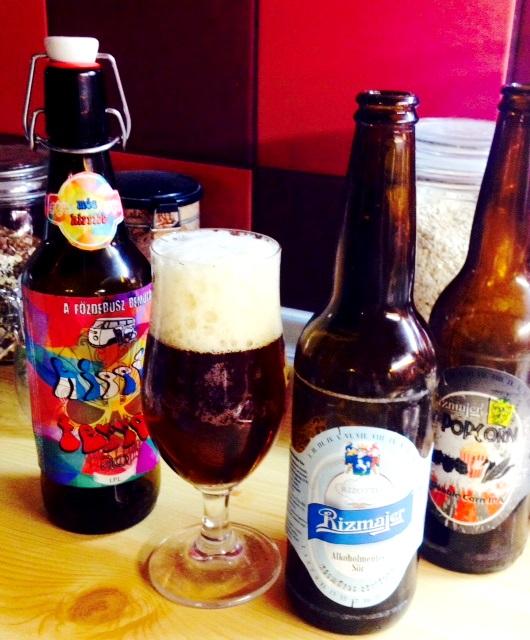 Kézműves vadhajtás - Rizotto - a Rízmajer és az OK Brewery alkoholmentes söre