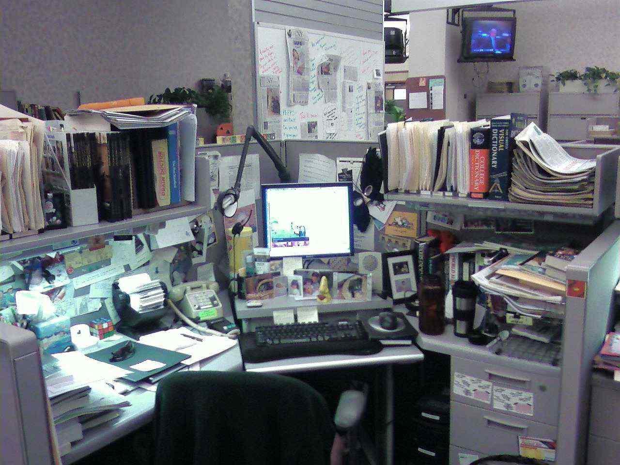 Tiszta íróasztal