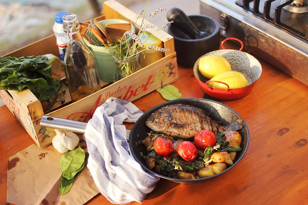 Mit együnk a horvát tengerparton?