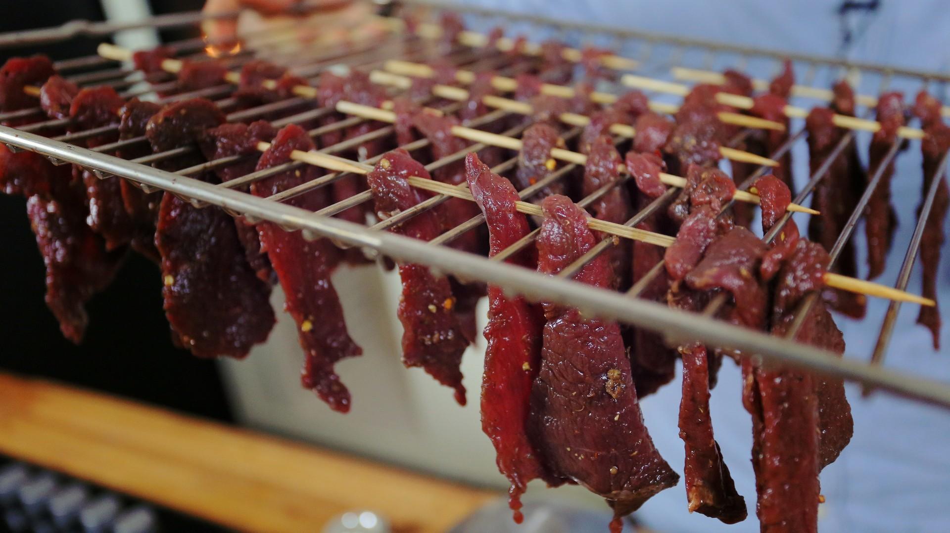 BILTONG, azaz a brutálfinom szárított marhahús
