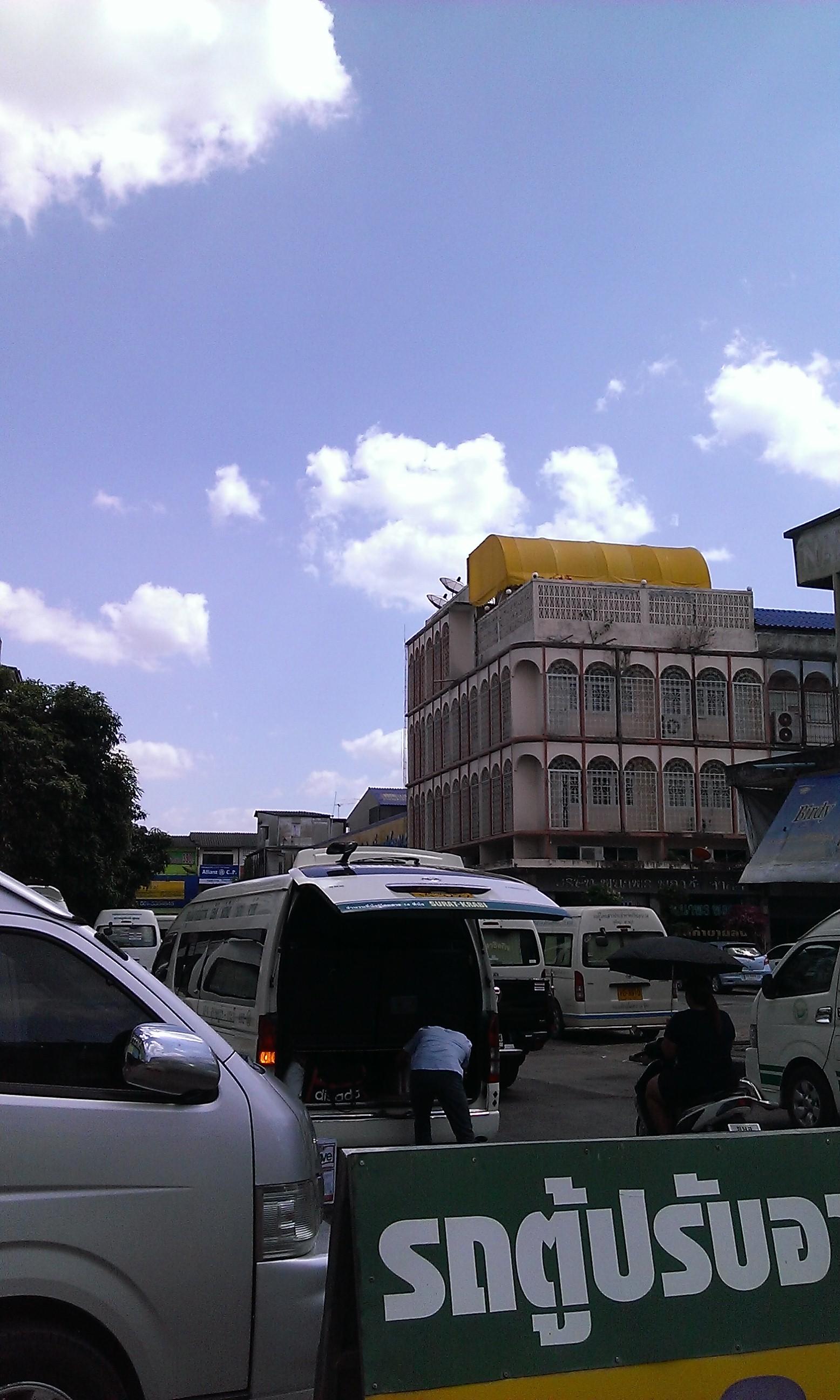 Még mindig Surat Thani és az autóbuszállomás