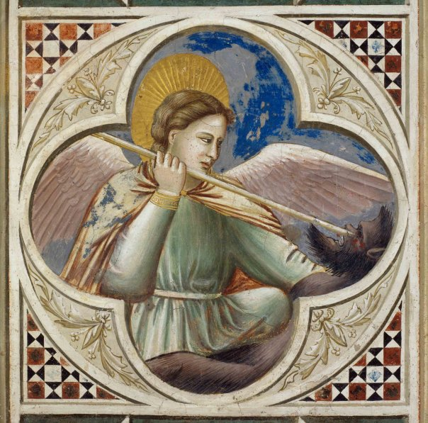 + San Michele trafisse Satana - Giotto - _1.jpg