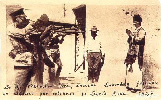 CATHOLICVS-P. Francisco Vera,fusilado en Jalisco en 1927 por oficiar la Santa Misa.jpg