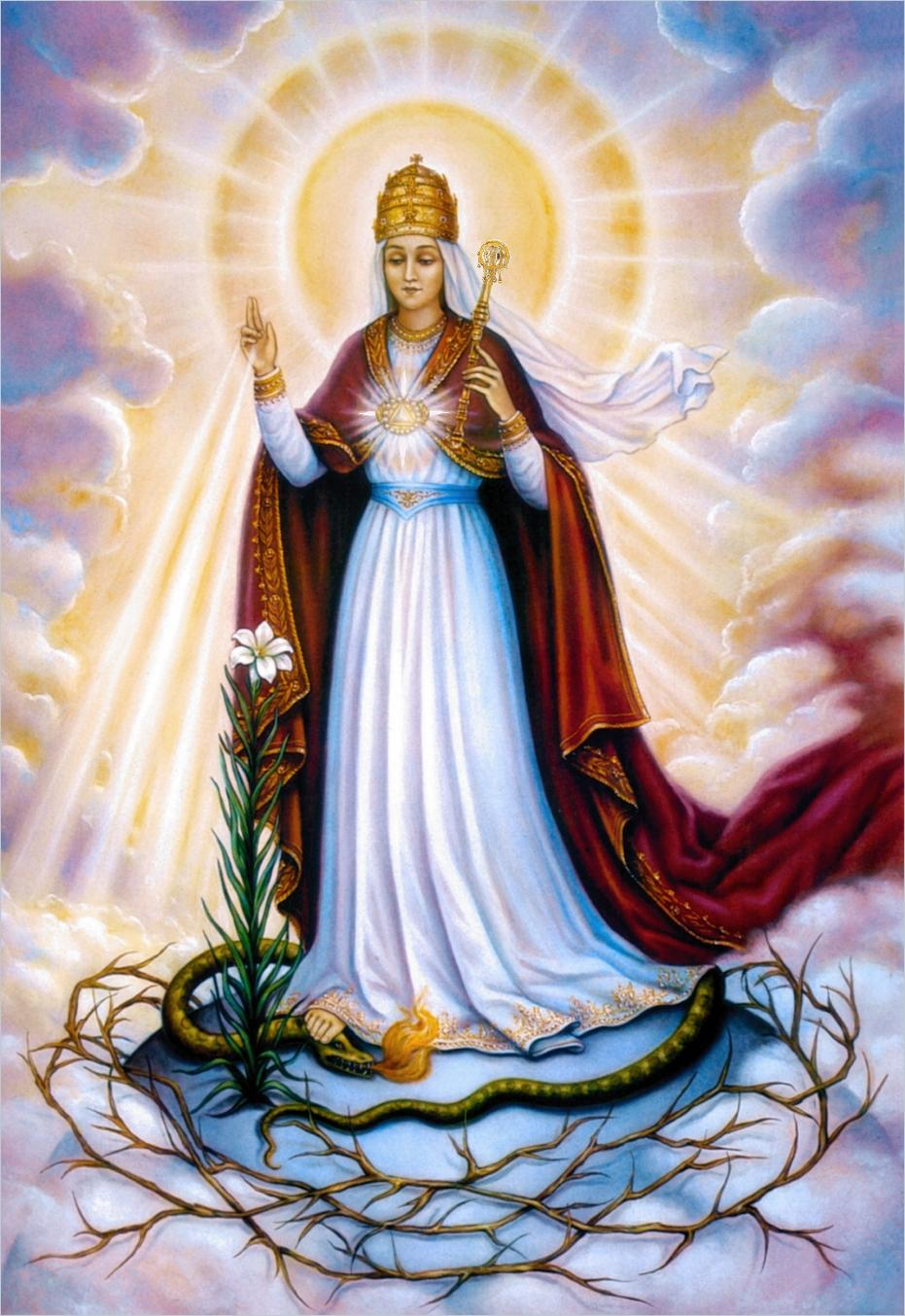 Holy Mary Mother of God on Pinterest | Blessed Virgin Mary ...