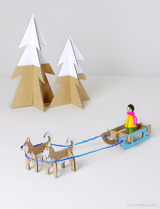 husky-sled-cardboard-toy-templates.jpg