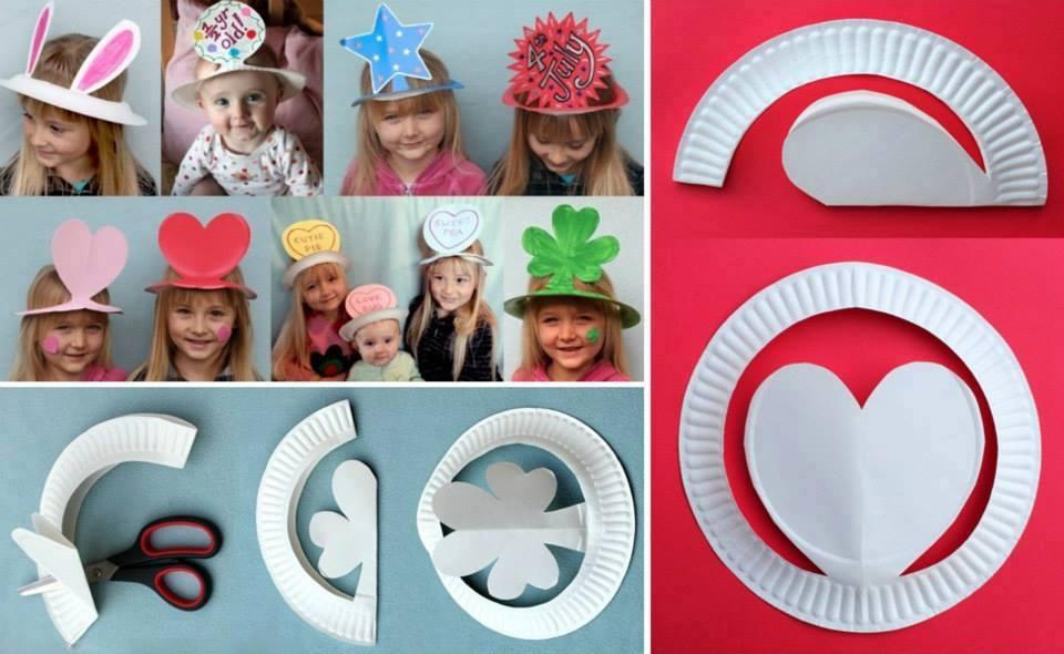 Как сделать шляпу для ребенка из картона