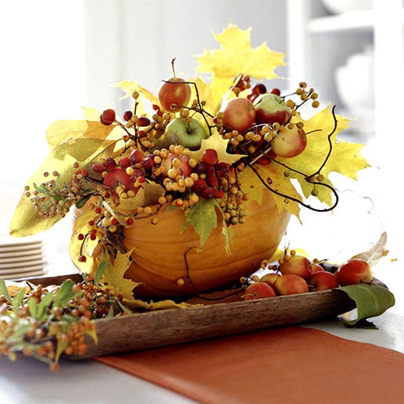 Csin ld magad faragjunk t kv z t sz nes tletek blog for Modern fall table decorations