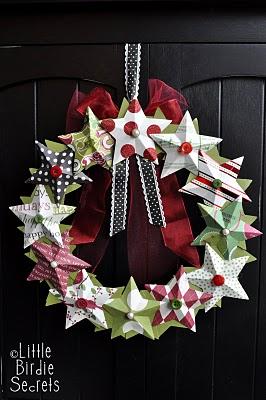 3D paper star wreath how to make.jpg