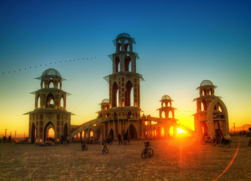 The Burning Man Temple in the Morning-L.jpg