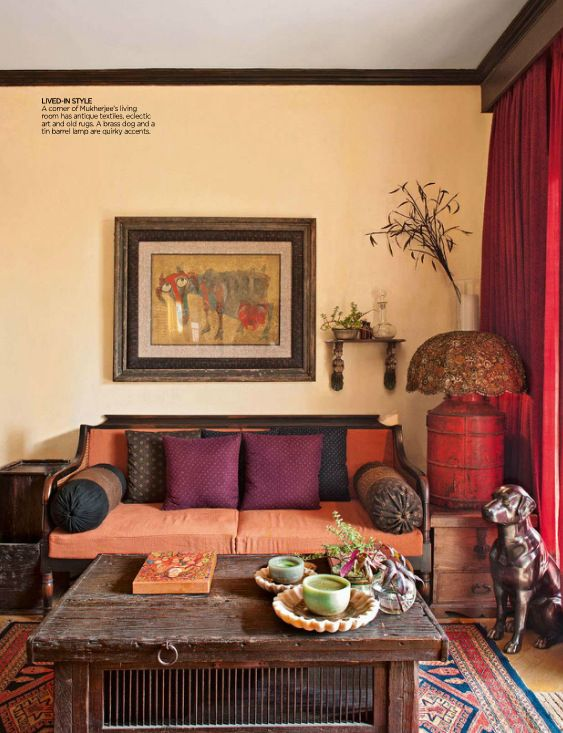 Teakonyha - How to decorate living room in indian style ...