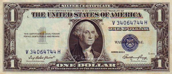 24 1 Dollar 1935 (Silver Cert.jpg