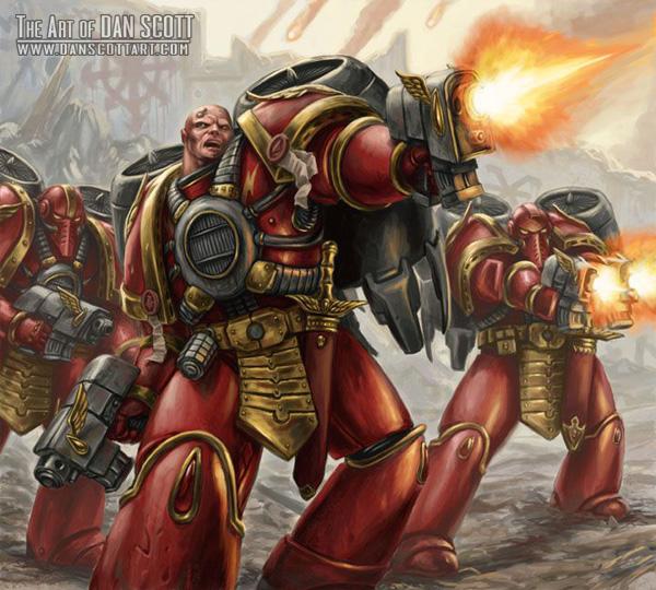 Warhammer 40k Blood Angels: Blood Angels' Devastators: Blood Angels Podcast Part Two