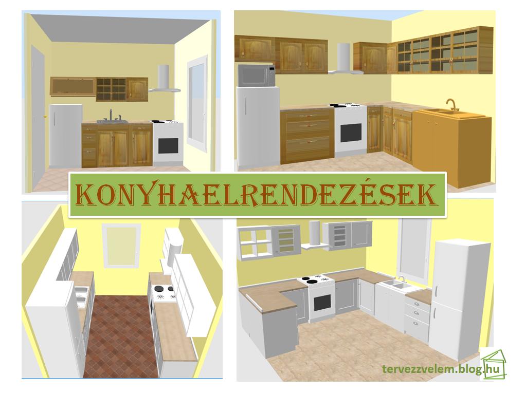 Konyhaelrendezések - Tervek, álmok, otthonok lakberendezés ...