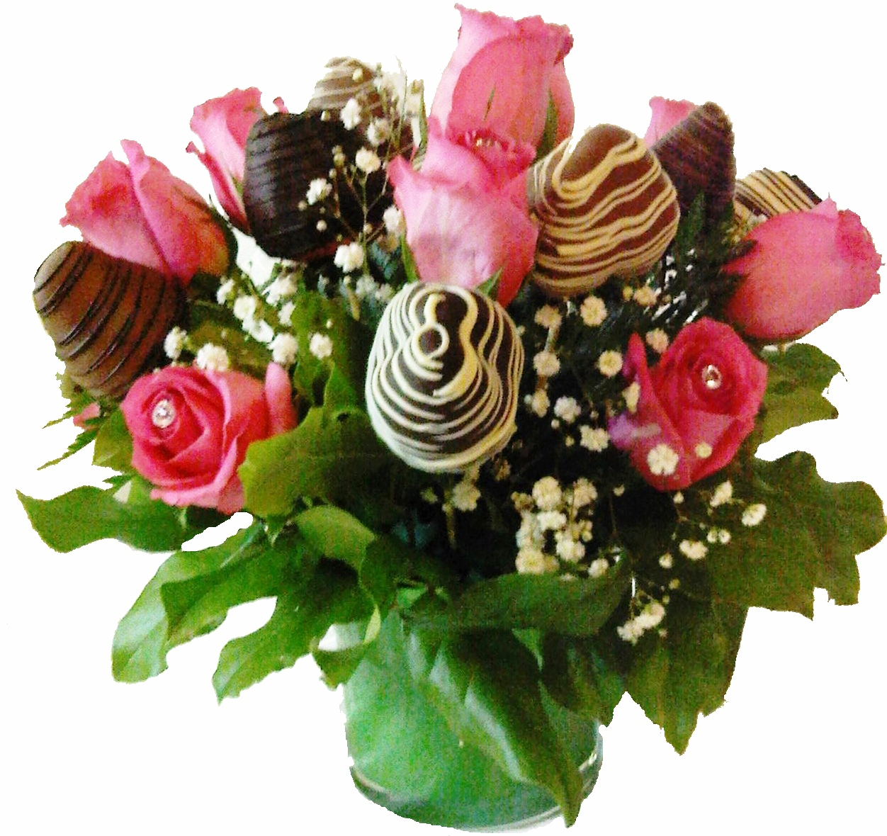 Chocolate Strawberry Roses Delivery