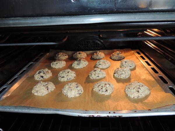 Zabpelyhes, diós, csokis keksz recept (cookie)-005.JPG