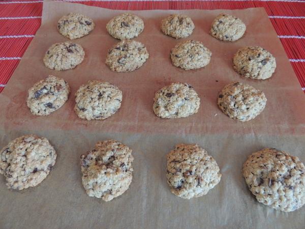 Zabpelyhes, diós, csokis keksz recept (cookie)-007.JPG
