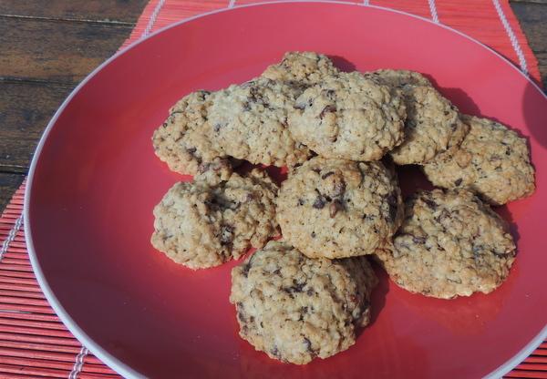 Zabpelyhes, diós, csokis keksz recept (cookie)-017.JPG