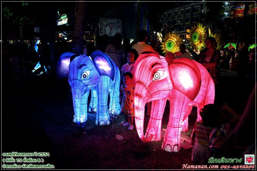 Ubon Ratchatani - Gyertya Fesztivál