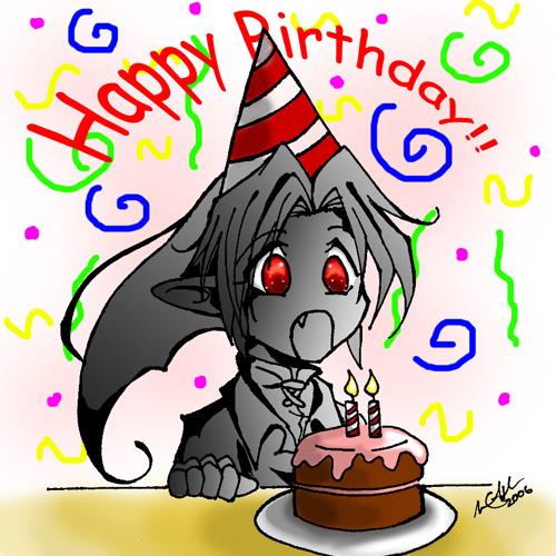 Ajándékozzunk! - Page 3 Dark_Link__s_Birthday_by_HyruleMaster