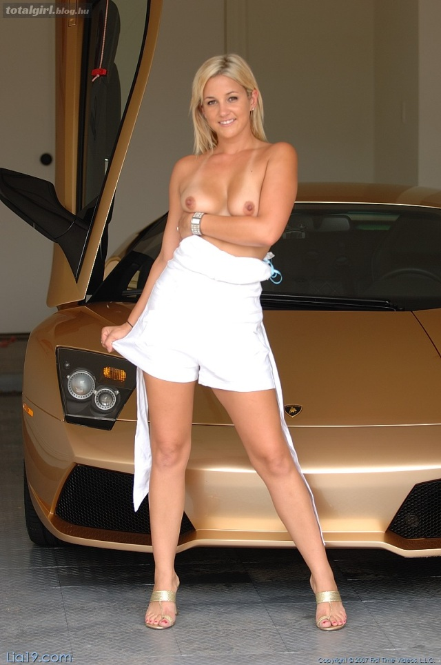Szőke Lia, arany Lamborghini