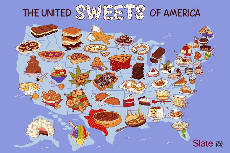 Amerika 233 Dess 233 Gt 233 Rk 233 Pe The United Sweets Of America