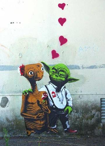 Valentin -  street art love