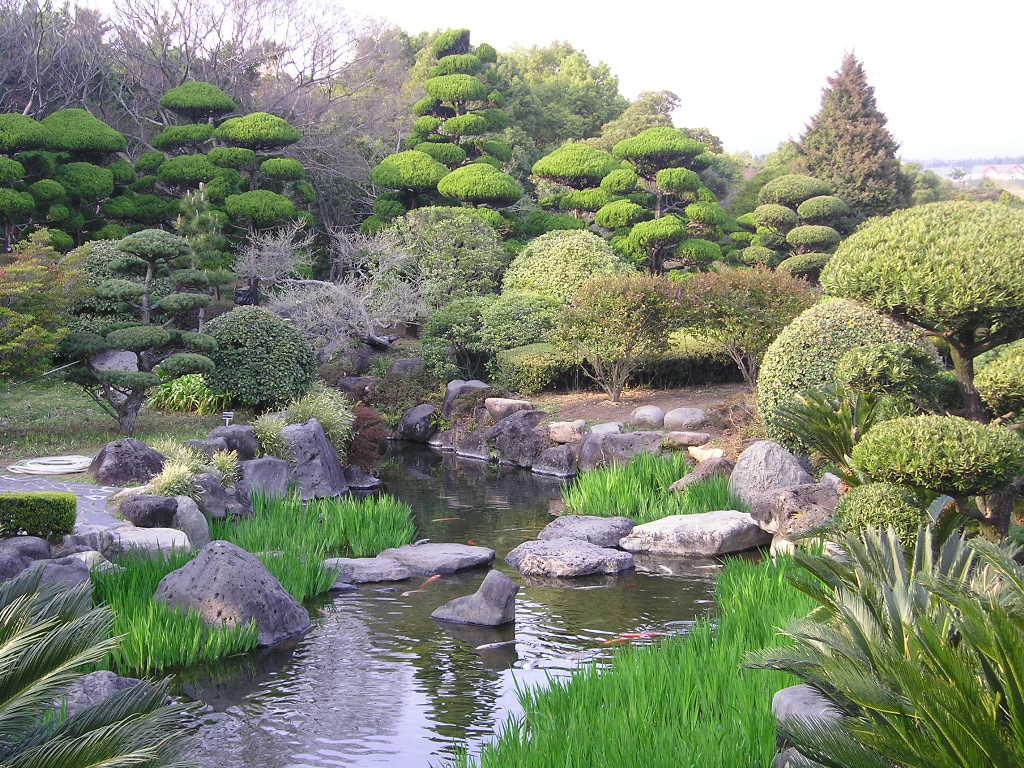 Korean Landscape Garden : Botanikus kert a vil?g legnagyobb arbor?tuma ?tic?l korea