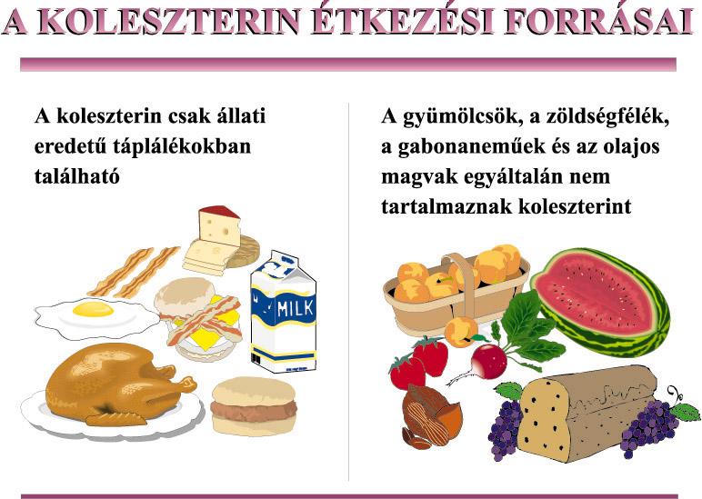 magas vérnyomás koleszterinből)