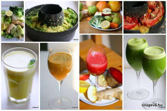Gyümölcscentrifuga receptkönyv
