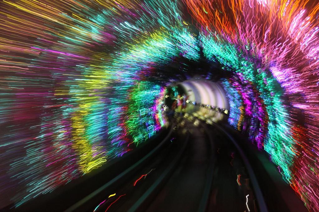 Bund Sightseeing Tunnel, Shanghai metro2.jpg