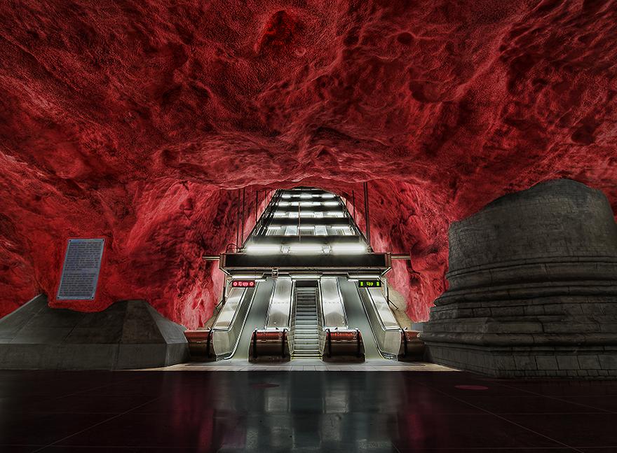 Rådhuset Station, Stockholm, Sweden.jpg