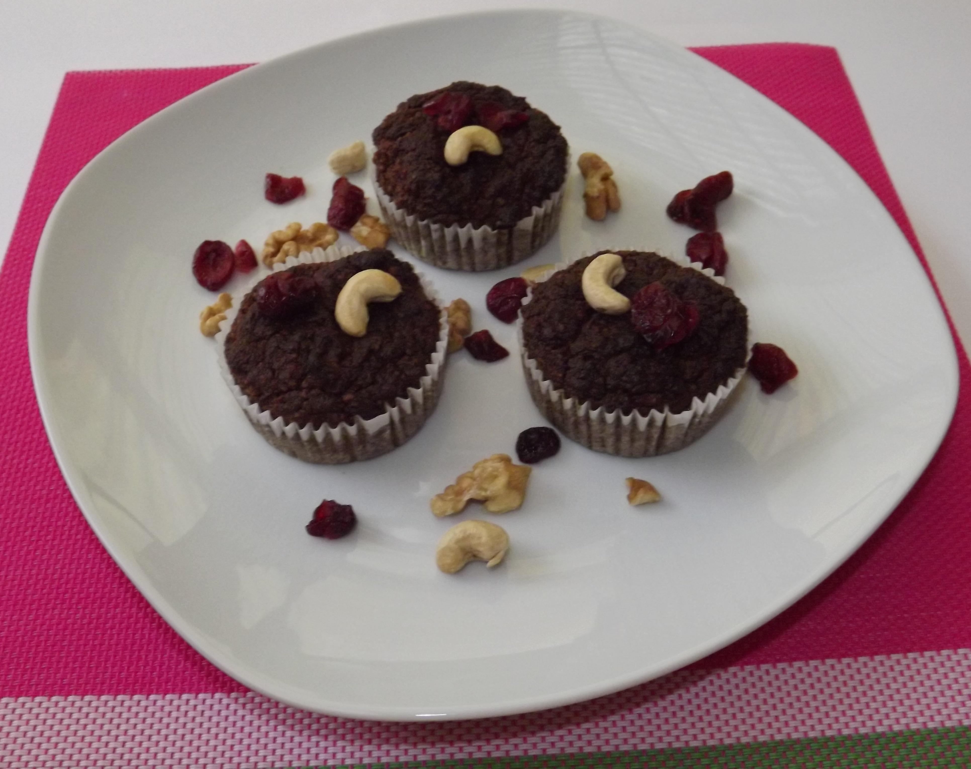 Gluténmentes, cukormentes, IR barát muffin