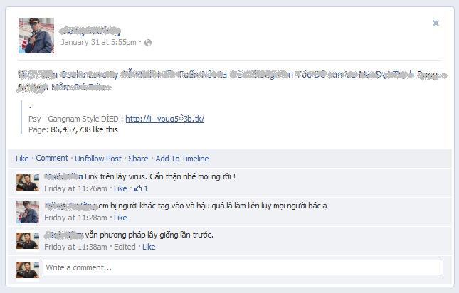 Facebook átverés