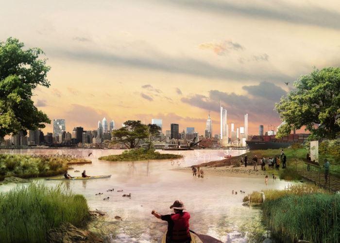 A W Architecture és Landscape Architecture építészirodák víziói New York-ról