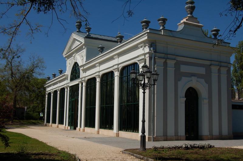 Pálmaház az Angolparkban