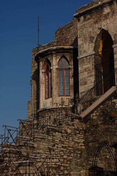 részlet a várból