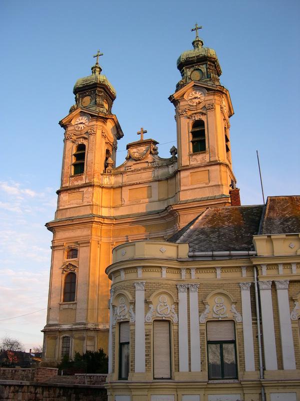 a Kossuth téri templom