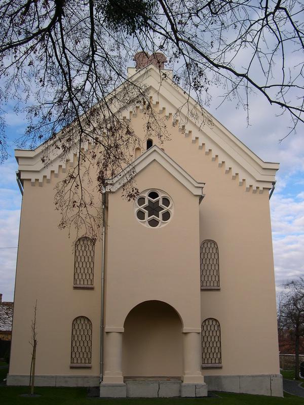 az egykori zsinagóga