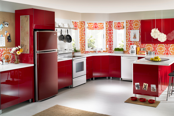 Lg Red Appliance Paint