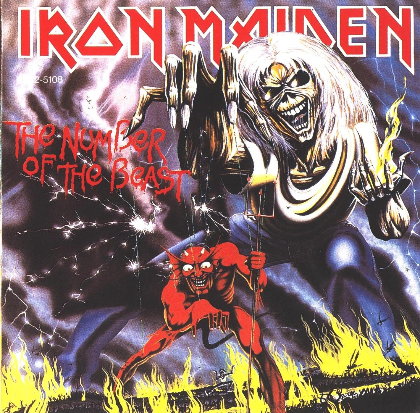 iron maiden the number of the beast 1982.JPG